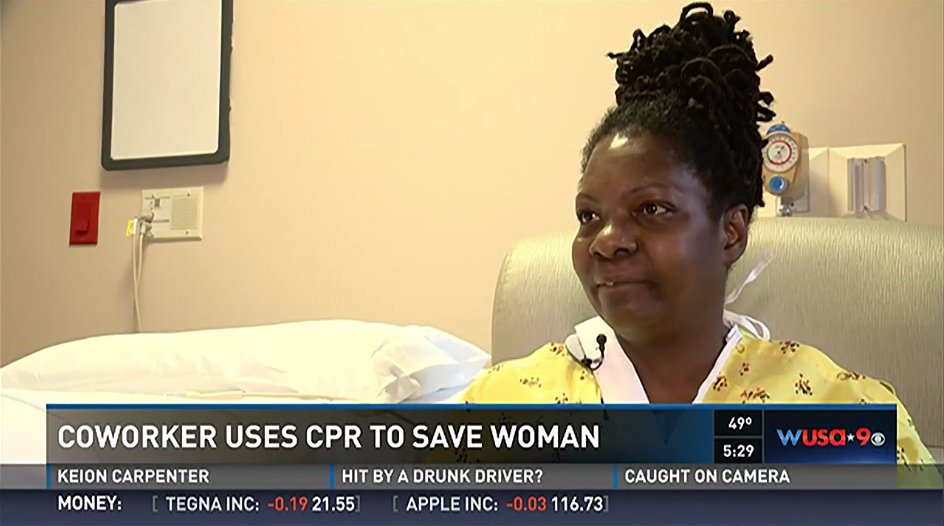 UFCW member saves coworkers life