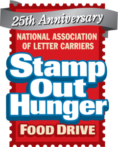 Stamp Out Hunger 25th Anniversary Logo