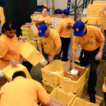 On May 2, Local 400 staff spent the morning volunteering at the Capital Area Food Bank in Washington, D.C., to kick off the 25th annual Stamp Out Hunger food drive.