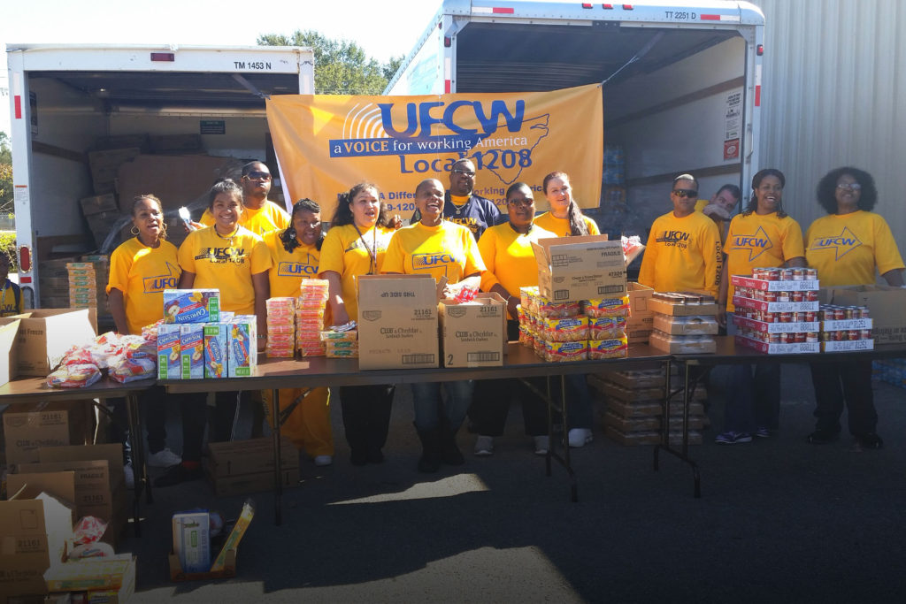 UFCW Helps Victims Of Disaster