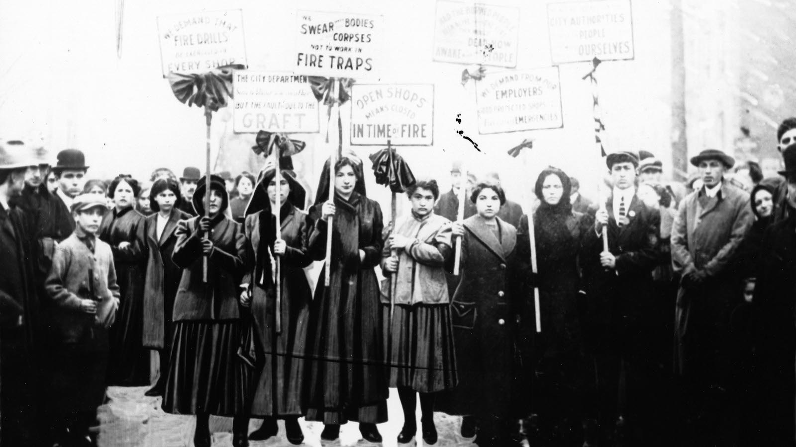 Women's History Month: 1911 Triangle fire survivor recalls ... Triangle Shirtwaist Fire 1912