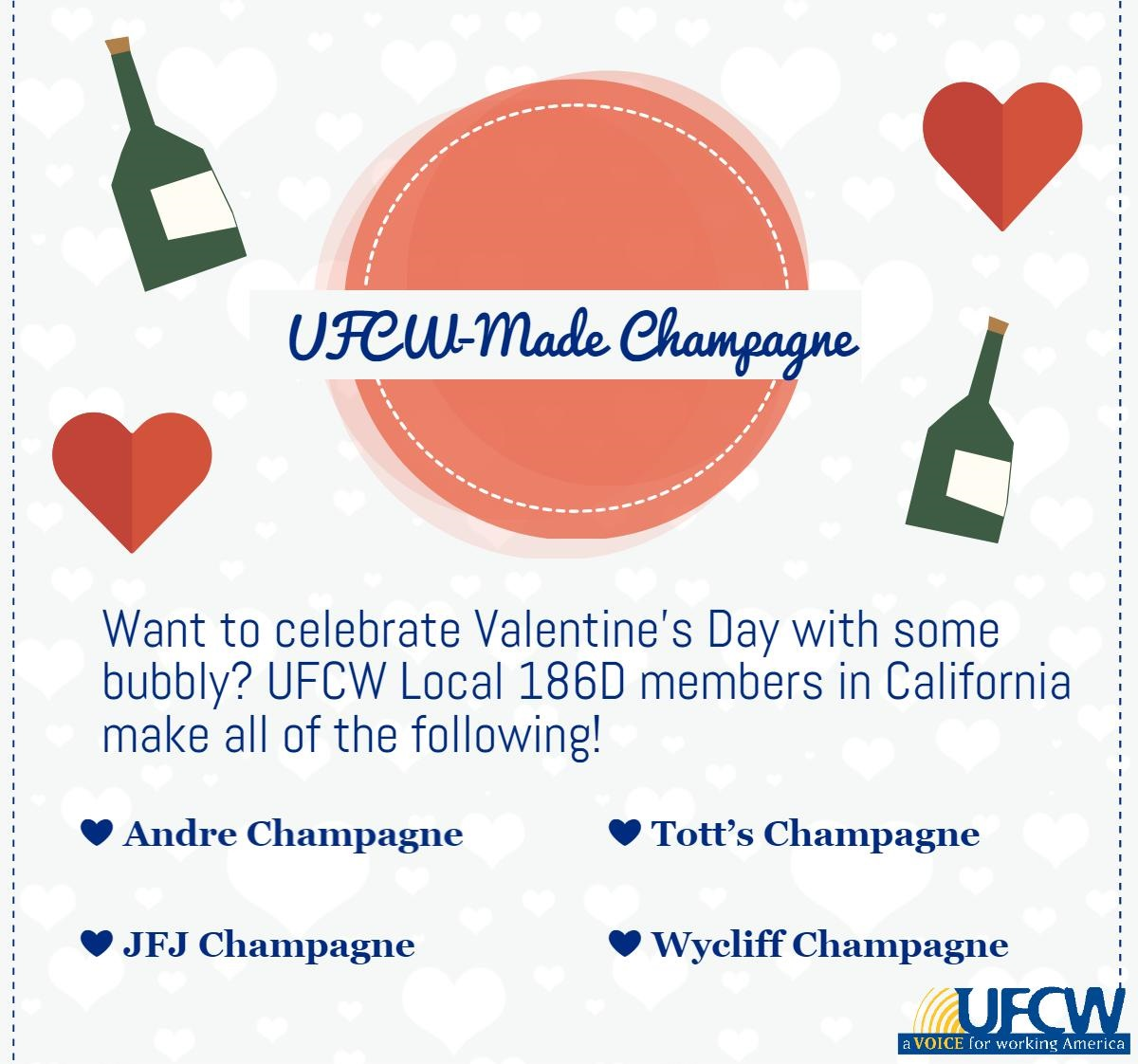 Andre Champagne JFJ Champagne Tott's Champagne Wycliff Champagne