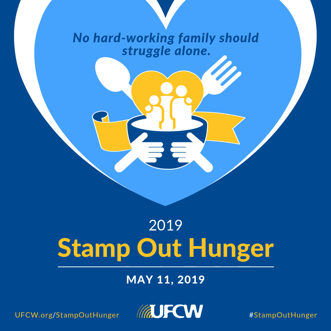 Stamp Out Hunger Instagram 2019 – The United Food