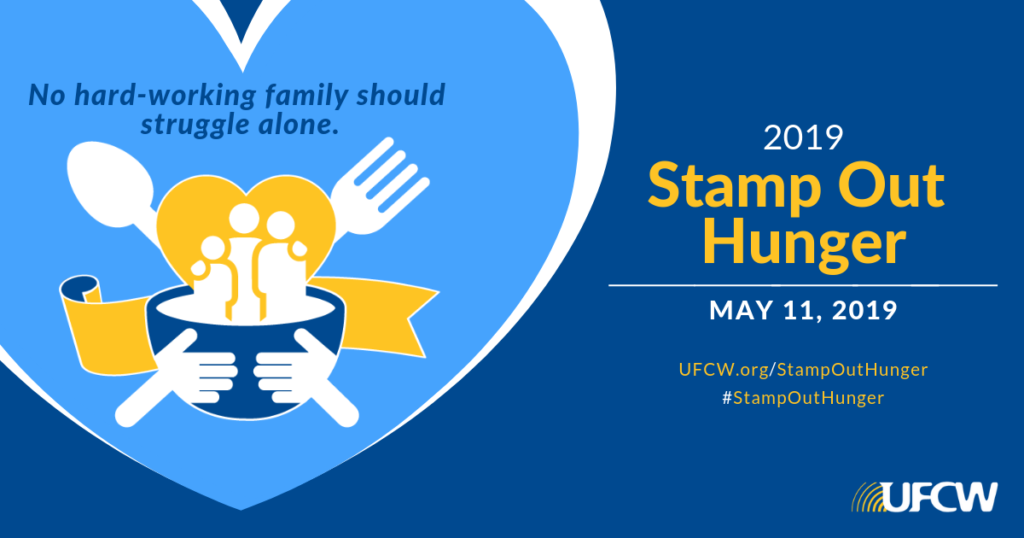 Stamp Out Hunger 2019 is May 11