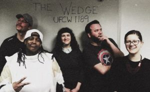UFCW Local 1189 members at The Wedge Co-op in Minneapolis