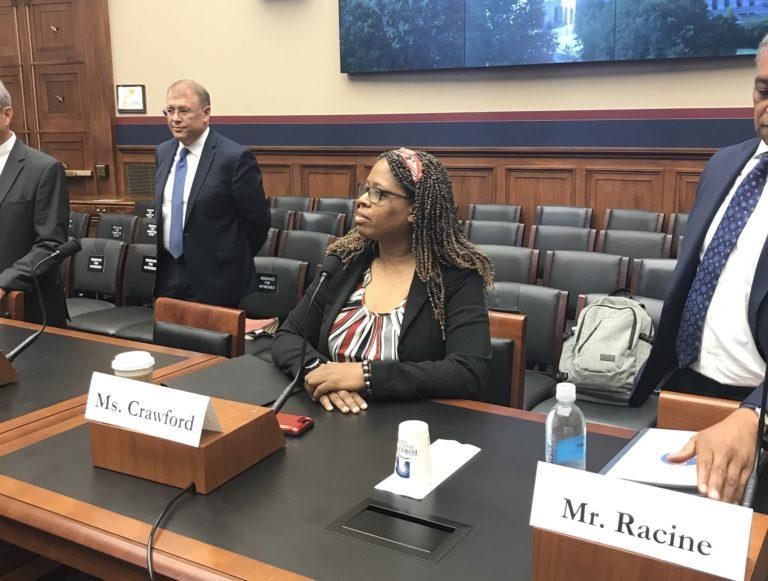Instacart worker Maria Crawford testified in Congress