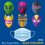 Super Hero Wear Mask 1080x1080