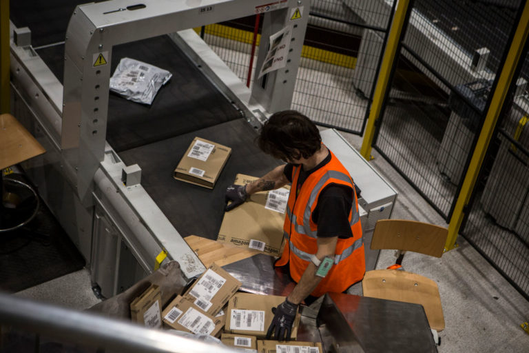 Amazon Worker Fulfillment Center