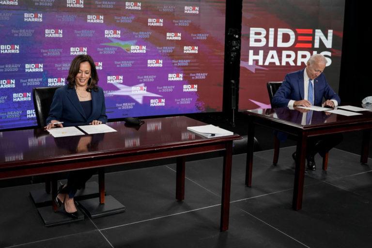 Biden picks Harris as running mate