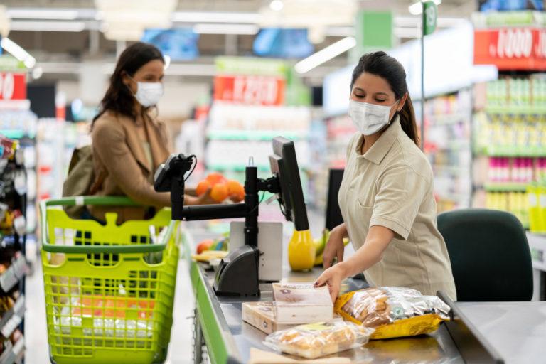 Grocery Worker Mask Mandate