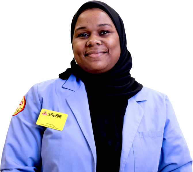 AA Muslim Pharmacy Worker