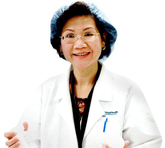 Asian Female Healthcare Worker