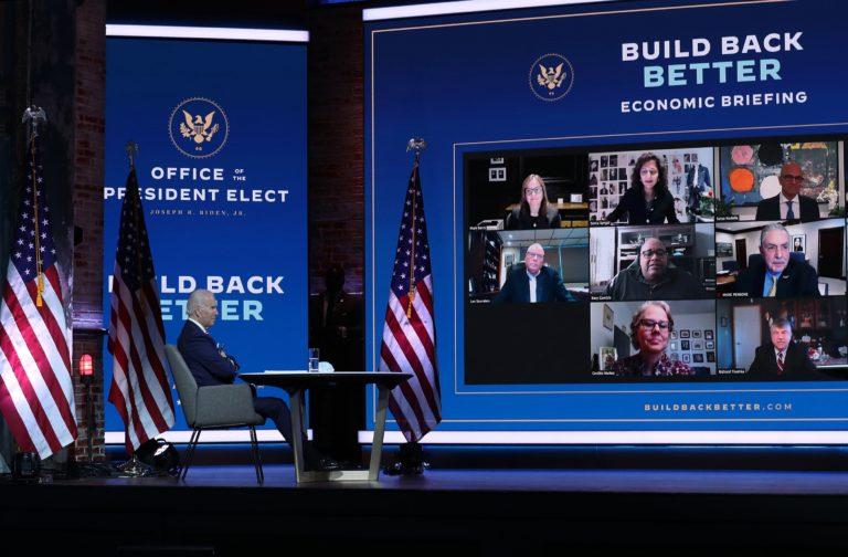 Joe Biden Labor Roundtable