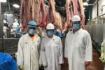 Meat packing plant members.