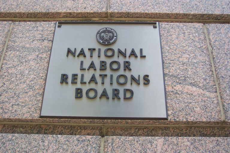 Sign of the National Labor Relations Board
