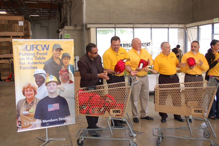 UFCW Feeding the Hungry