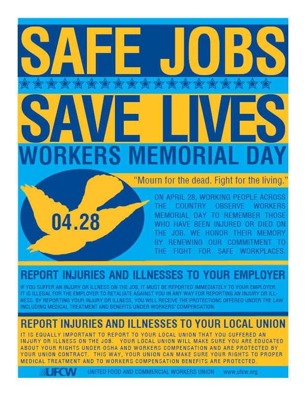 Worker Memorial Day Flyer