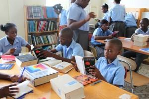 Haiti--Library 1