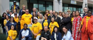 UFCW Locals 21, 367 and Teamsters Local 38 grocery workers sent a strong message to the grocery chains by overwhelmingly voting to authorize a strike.