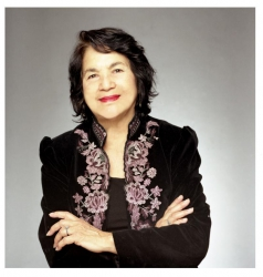 Dolores Huerta, via doloreshuerta.org