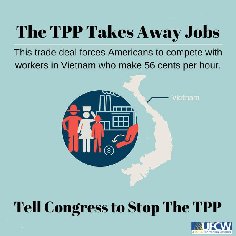TPP Takes Away Jobs